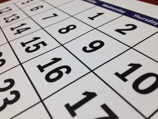クレジットカードで海外保険を適用できる日数一覧表